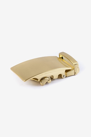 Classic Slide Antique Gold Belt Buckle