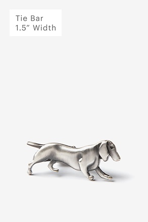 _Blame the Dog Antiqued Silver Tie Bar_