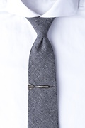 Dart Antiqued Silver Tie Bar Photo (2)