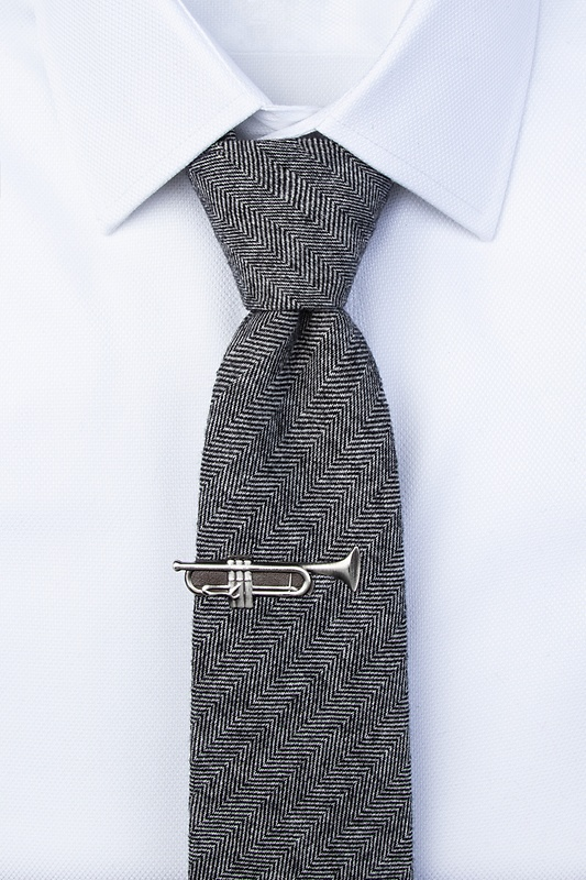 Toot Your Own Horn Tie Bar
