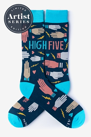 Alynn® X Lisa Congdon High Five Sock