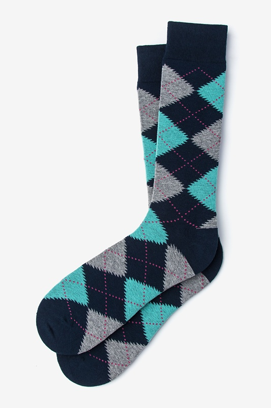 Argyle Assassin Sock