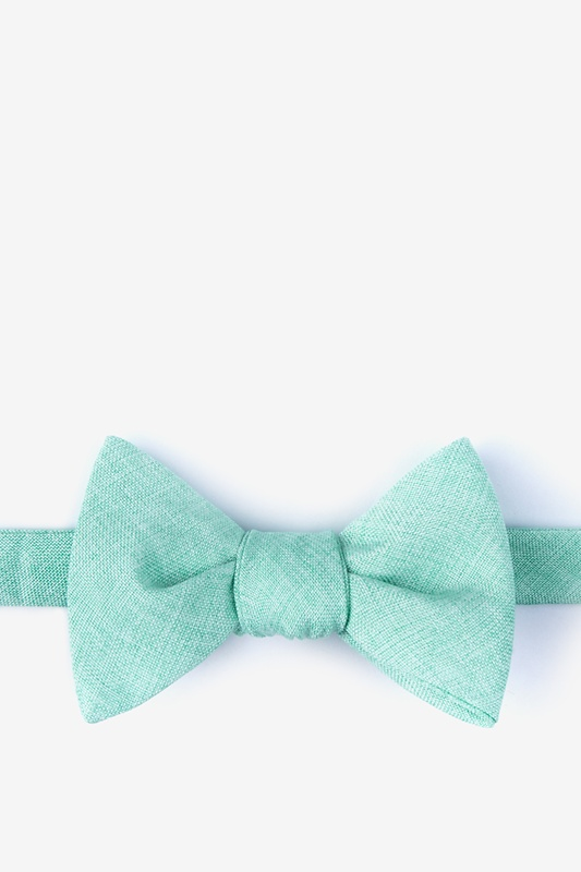 Ben Aqua Self-Tie Bow Tie Photo (0)
