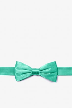 _Aqua Bow Tie For Boys_