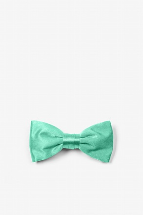 Aqua Bow Tie For Infants