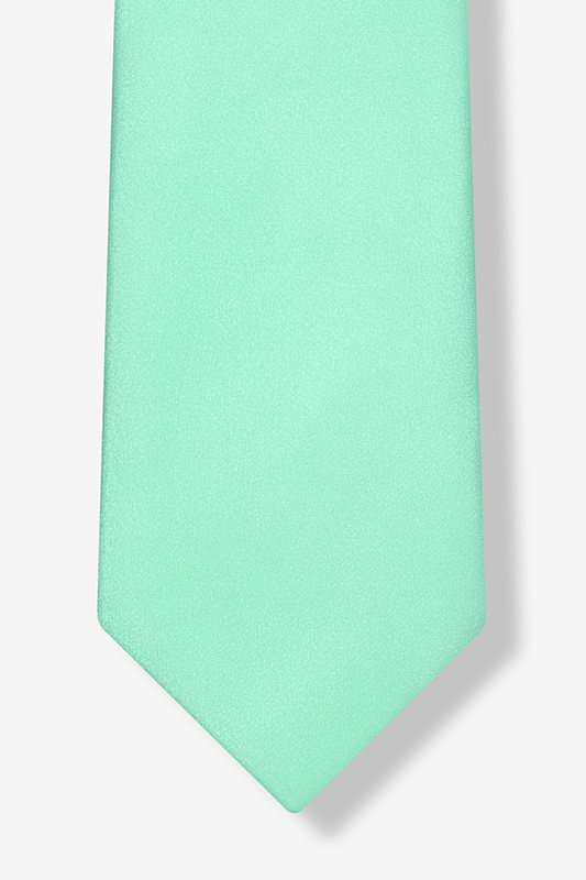 Aqua Extra Long Tie Photo (4)