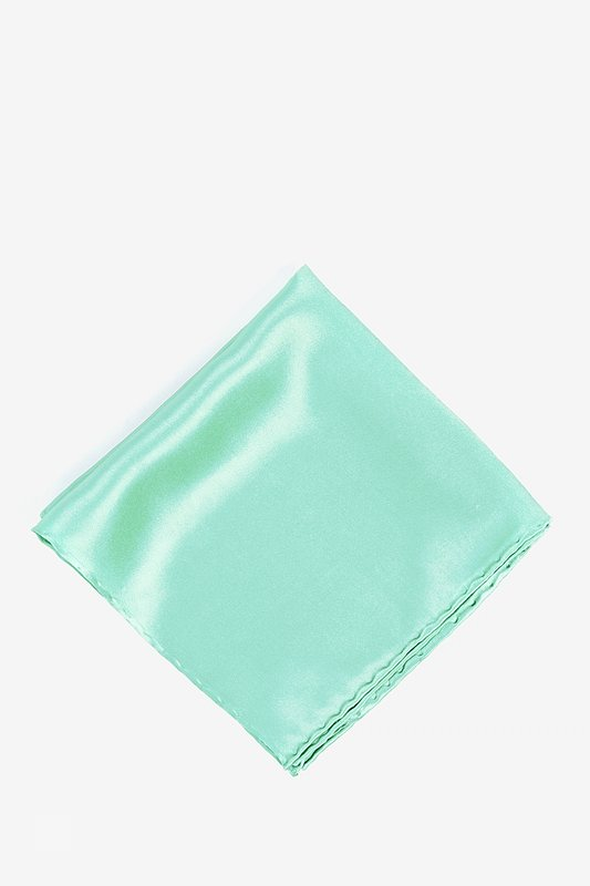 Aqua Pocket Square
