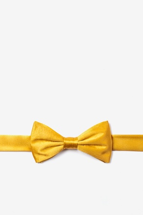 Artisans Gold Bow Tie For Boys