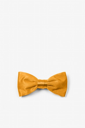 Artisans Gold Bow Tie For Infants