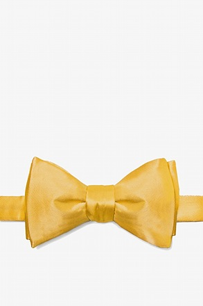 _Artisans Gold Self-Tie Bow Tie_