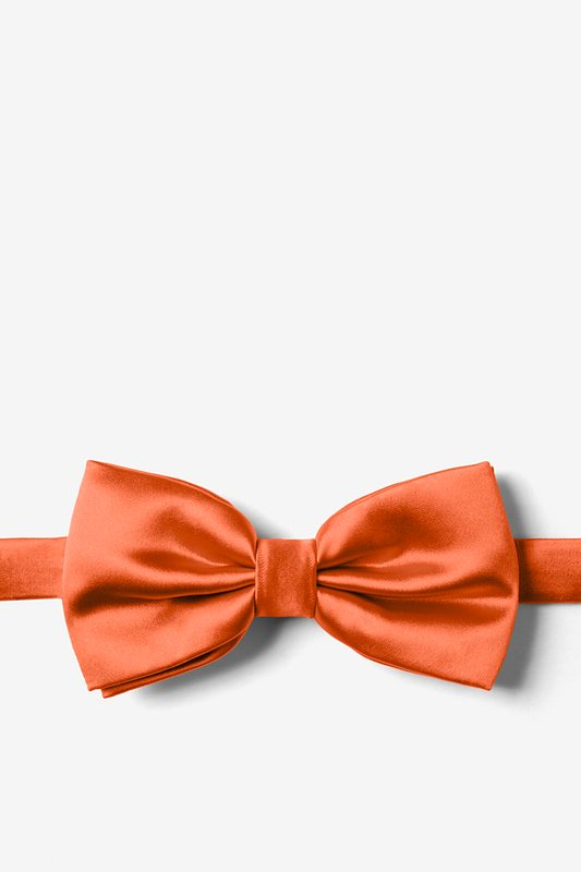Autumn Rust Pre-Tied Bow Tie Photo (0)