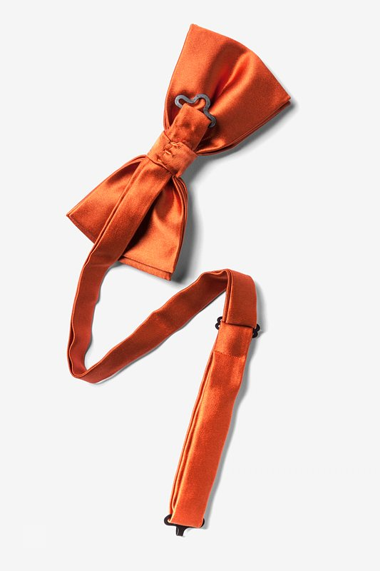 Autumn Rust Pre-Tied Bow Tie Photo (1)