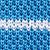 Azure Blue Silk Briton Stripe
