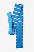 Briton Stripe Knit Skinny Tie Photo (1)