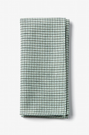 Baby Blue Andrew Plaid Pocket Square