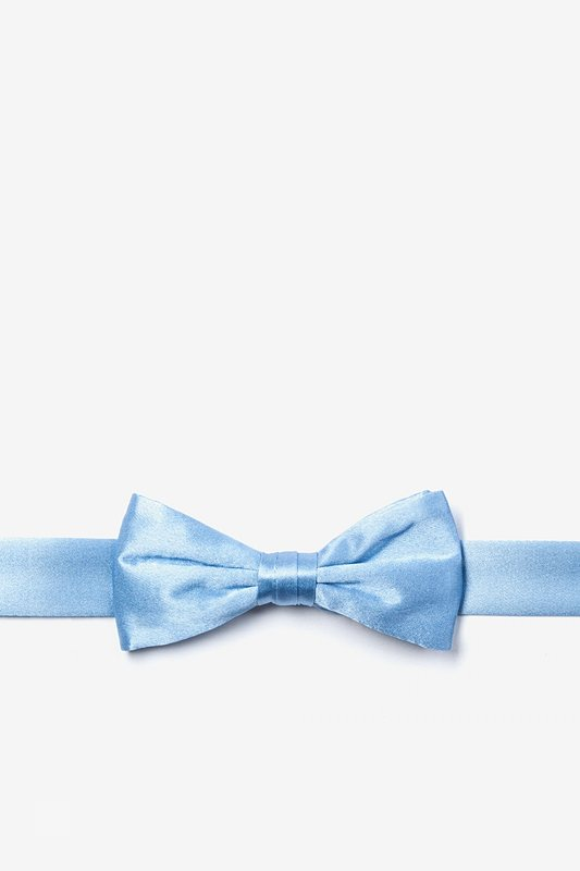 Baby Blue Bow Tie For Boys Photo (0)