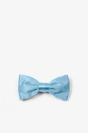 Baby Blue Bow Tie For Infants