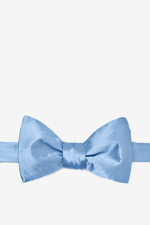 Baby Blue Self-Tie Bow Tie