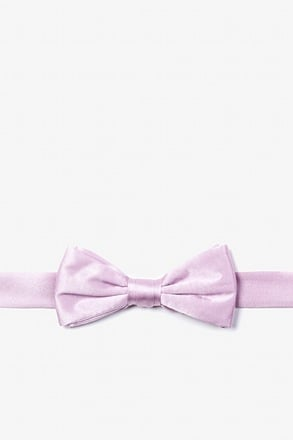 _Baby Lilac Bow Tie For Boys_