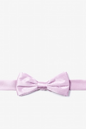 Baby Lilac Bow Tie For Boys