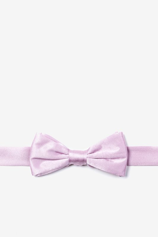 Baby Lilac Bow Tie For Boys Photo (0)