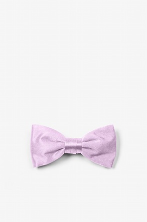 _Baby Lilac Bow Tie For Infants_