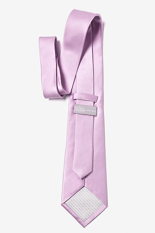 Baby Lilac Extra Long Tie Photo (2)