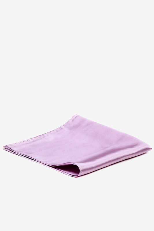 Baby Lilac Pocket Square Photo (1)