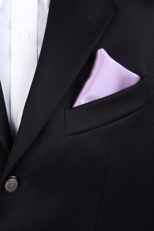 Baby Lilac Pocket Square Photo (2)