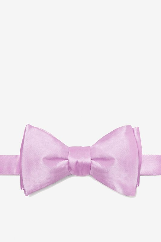 Baby Lilac Self-Tie Bow Tie Photo (0)
