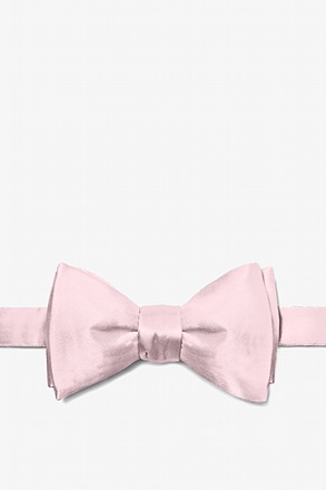 Baby Pink Bow Tie