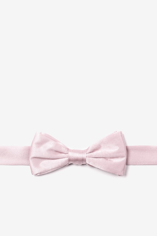 Baby Pink Bow Tie For Boys
