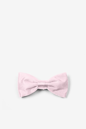 Baby Pink Bow Tie For Infants