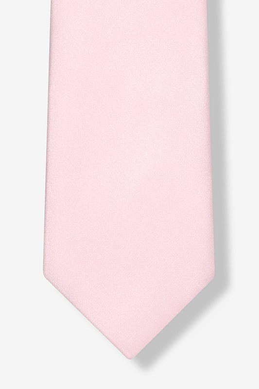 Baby Pink Extra Long Tie