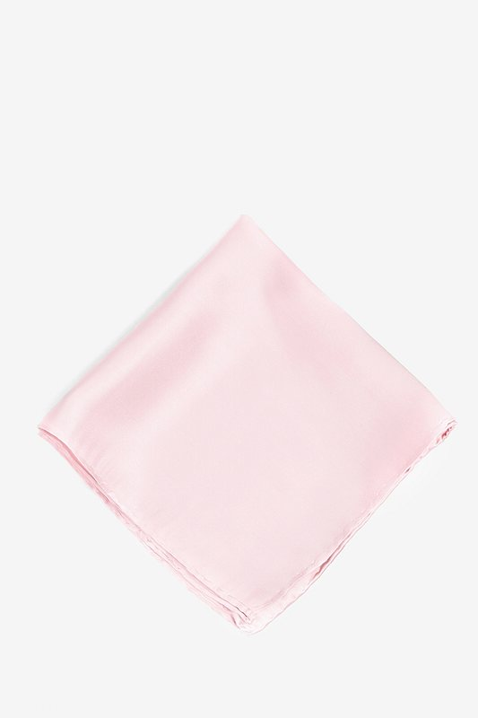 Baby Pink Pocket Square Photo (0)