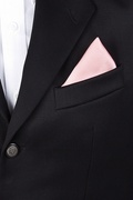 Baby Pink Pocket Square Photo (2)
