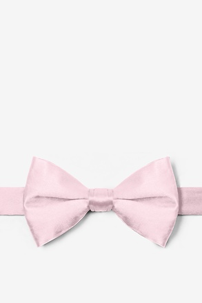 _Baby Pink Pre-Tied Bow Tie_