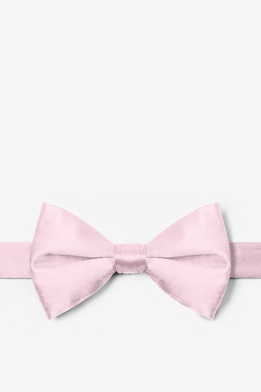 Baby Pink Pre-Tied Bow Tie