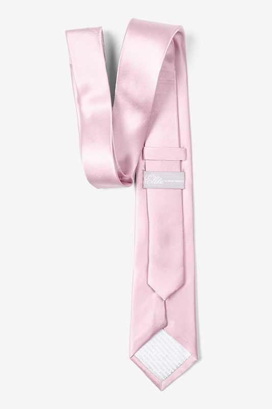 Baby Pink Skinny Tie Photo (1)