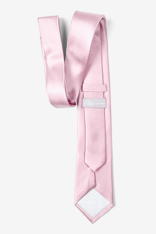 Baby Pink Tie For Boys