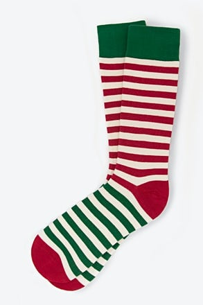 Elf Stripe Sock