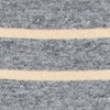 Beige Carded Cotton Virtuoso Stripe Sock