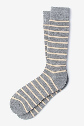 _Virtuoso Stripe Beige Sock_