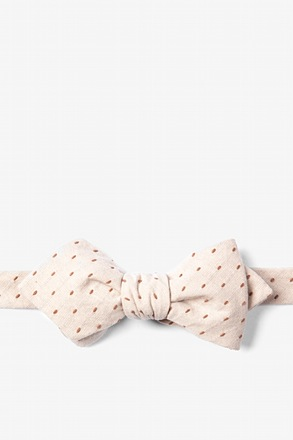 Dash Diamond Tip Bow Tie