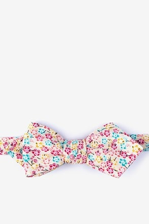 _Descano Diamond Tip Bow Tie_