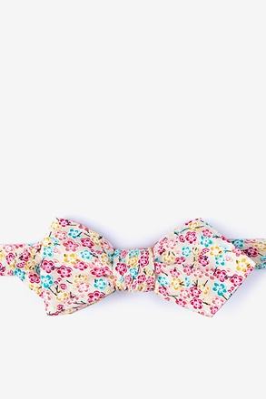 Descano Diamond Tip Bow Tie