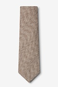 Springfield Beige Extra Long Tie Photo (1)