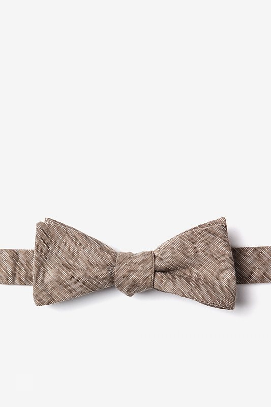 Springfield Beige Skinny Bow Tie Photo (0)