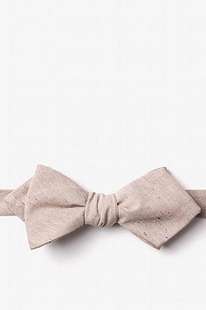 Teague Diamond Tip Bow Tie
