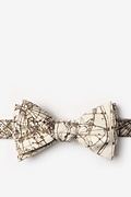 Vintage Star Chart Self-Tie Bow Tie